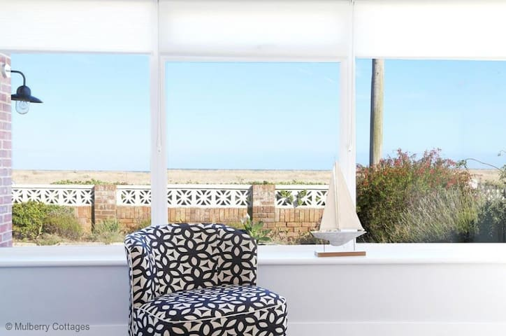 Apple Fish, sleeps 4, situated on the southernmost corner of Kent - Dungeness  - Huis