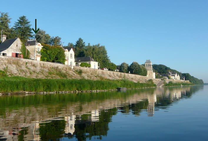 Pavillon indépendant sur la rive de la Loire - Le Thoureil - Leilighet