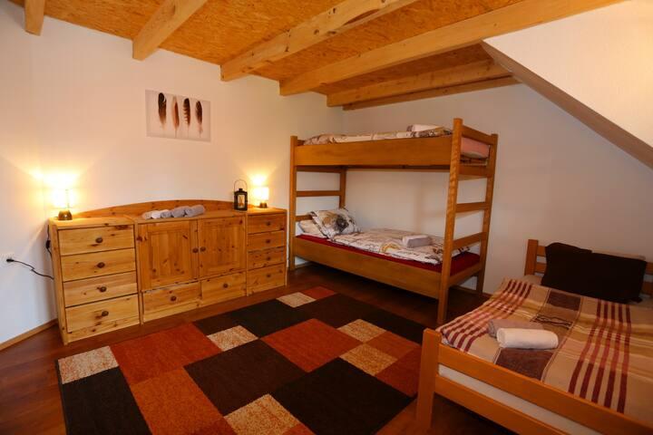 Rustikal-Modernes Zimmer in atemberaubender Natur - Rudopolje Bruvanjsko - Hus