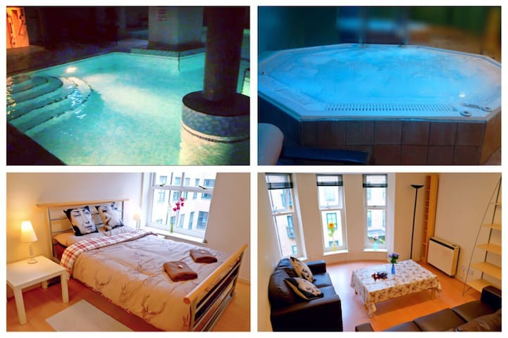 Lovely Apartment with Gym and Pool - Manchester - Leilighet