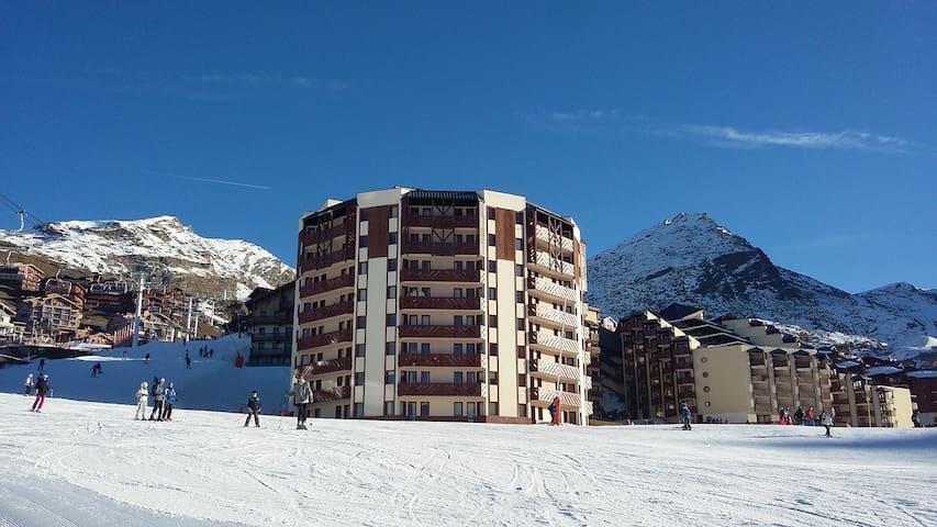 T2 27m² exposé plein sud / front de neige - Saint-Martin-de-Belleville