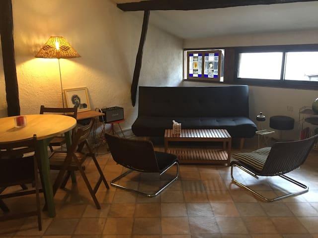 Appartement cosy, centre historique - Figeac - Daire