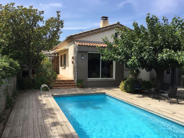 maison individuelle avec piscine - Villeneuve-lès-Avignon - Ev