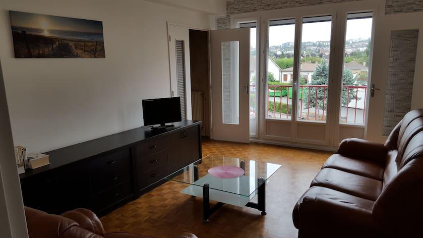 Le Guynemer - Appartement lumineux et calme - Auxerre - Appartement
