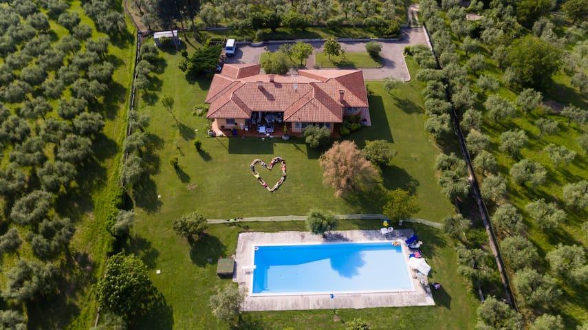 Villa Laurina - Great Garda view - San Felice del Benaco - Villa