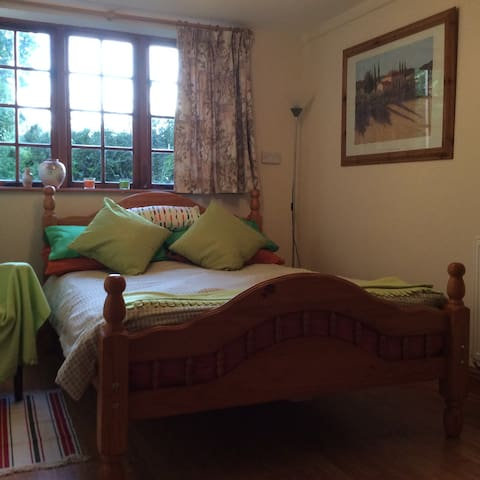 Double ensuite room with access to patio - Burcombe - Gastsuite