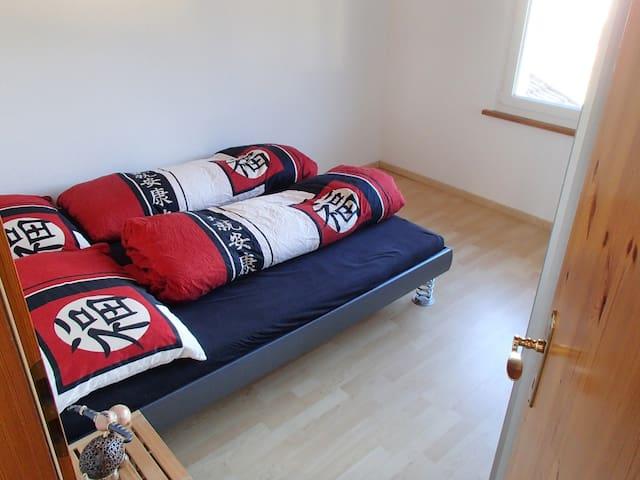 Zimmer mit Doppelbett - Zizers - 公寓
