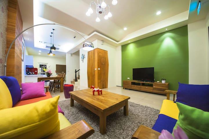 近羅東、宜蘭三星鄉裡溫馨舒適的私人空間,像回到家一樣的溫暖。 - 三星鄉 - Dom