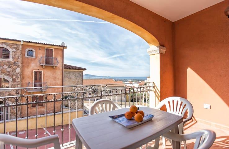 Appartamenti con vista mare sul Golfo dell'Asinara - Badesi - Apartemen