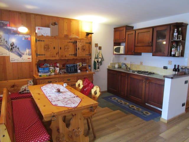 Cosy shared flat  Appartamento condiviso - Champoluc - Appartement