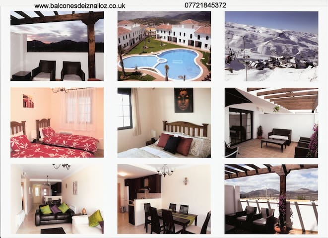 "Summer Sun, Winter Ski your ""One Stop Holiday"" - Iznalloz - Appartement"