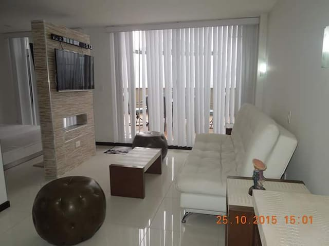luxurious modern comfortable safe. - Manizales - Appartement