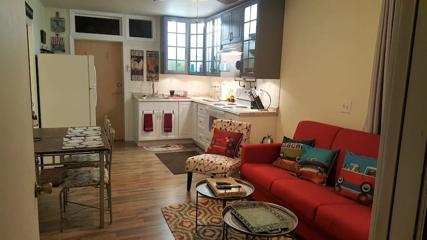 Cozy 1 bedroom apartment with private entrance. - Leesburg - Leilighet