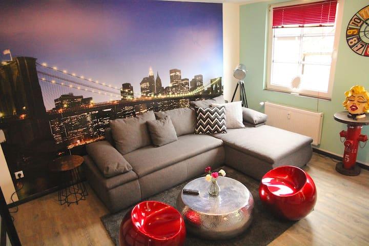 Moderne Zentrum-Wohnung inkl. W-LAN (10K) - Iserlohn - Leilighet