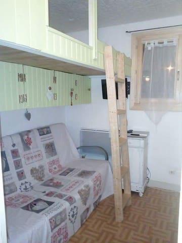 Appartement rénové à la Foux D'Allos pour 5 pers - Allos - Apartamento