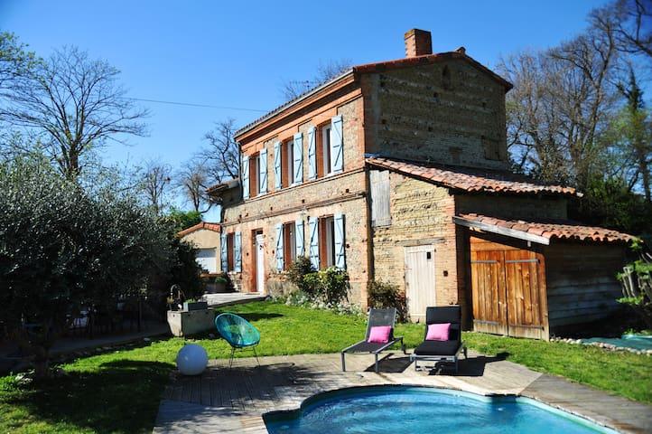 La maison du Bonheur - Le coeur du Volvestre - Longages - Casa