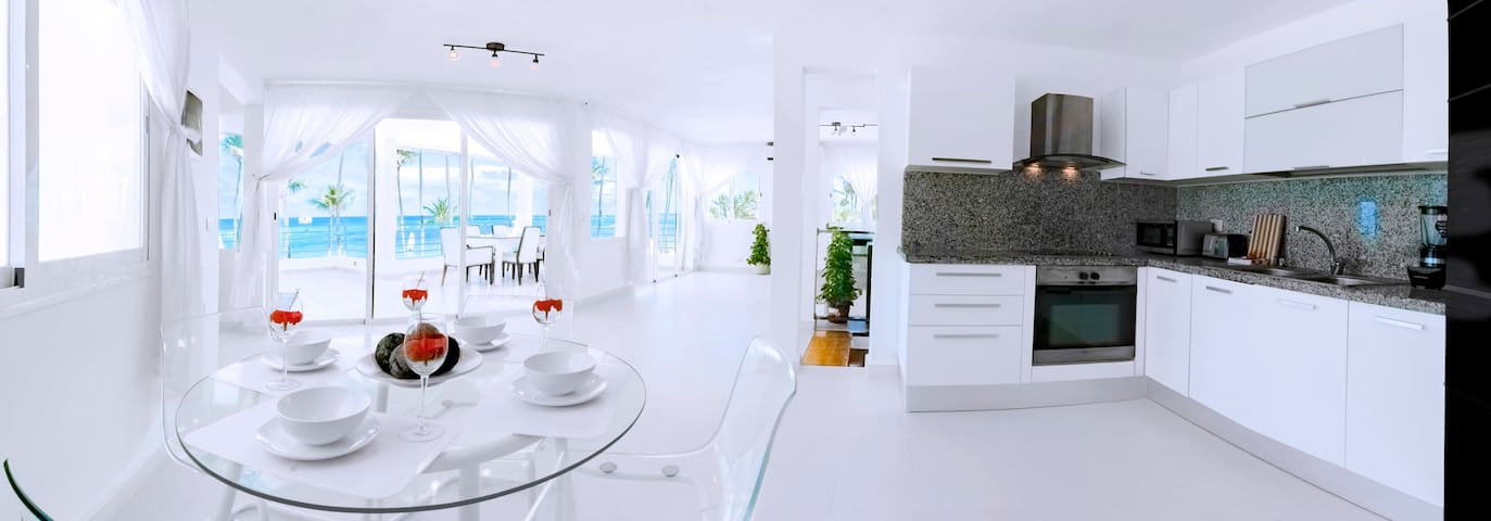 The most beautiful apartment!Directly on the beach - Punta Cana