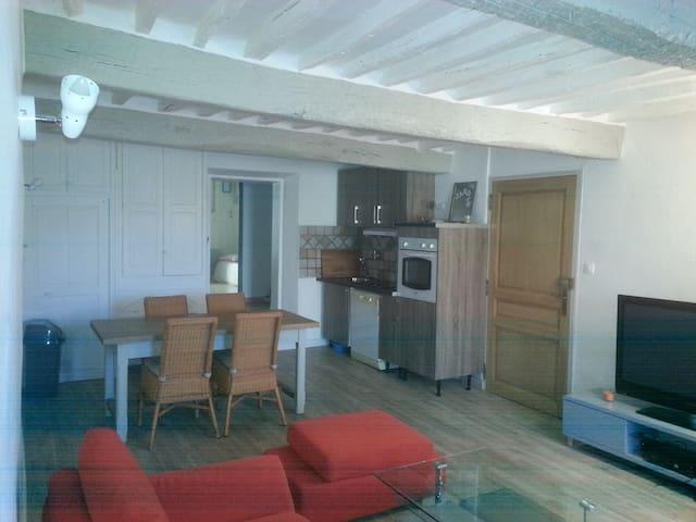 Charmant appartement dans cadre magnifique - Le Chaffaut-Saint-Jurson - 公寓