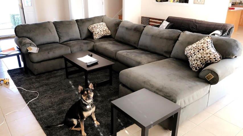 Comfortable room near Ft. Bragg - Fayetteville - Casa