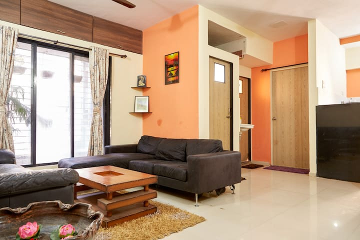 Pleasant and Spacious 1 BHK Stay at Thane - Thane - Lägenhet