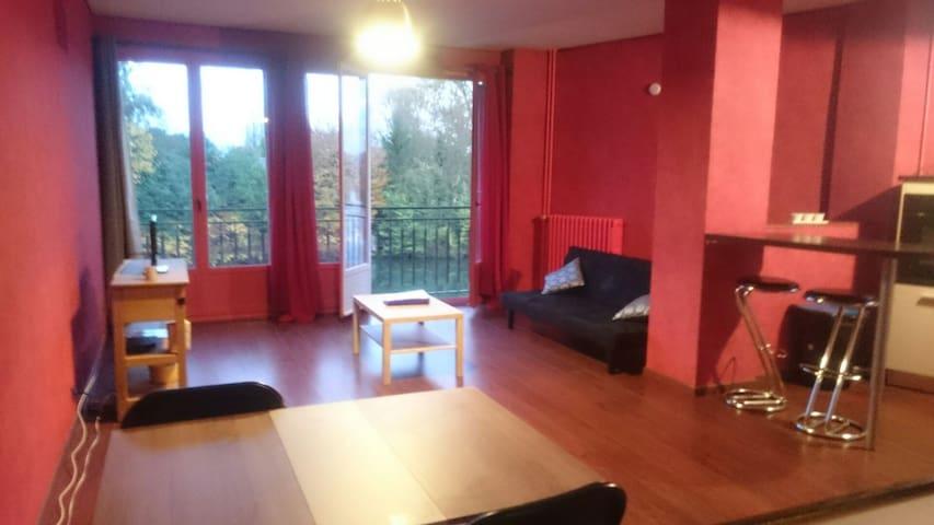Grand studio à 10 minutes à pied du centre ville - Soissons - Appartement