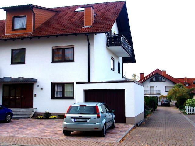 3 ZKBBalkon Nähe Heidelberg/MA 2-6 Pers. Klima neu - Hockenheim - Huoneisto