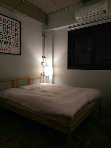 Wu's Loft Apartment bnb3 青年旅館(吳公寓3) - 苓雅區 - Bed & Breakfast