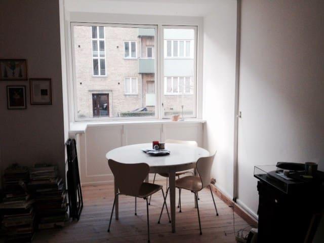 Apartment in charming and upcoming neighbourhood - Copenhague - Departamento