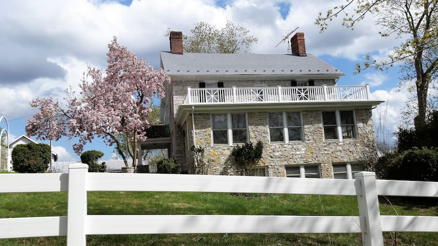 Stone House Mansion - 1757 - Hunter Room - Kearneysville - Huis
