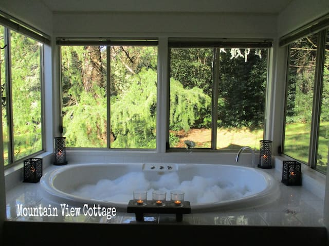 Mountain View Cottage @ Dandenong Ranges Cottages - The Patch - Houten huisje