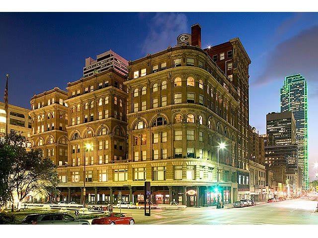 Downtown Historic Appartment - Dallas - Leilighet