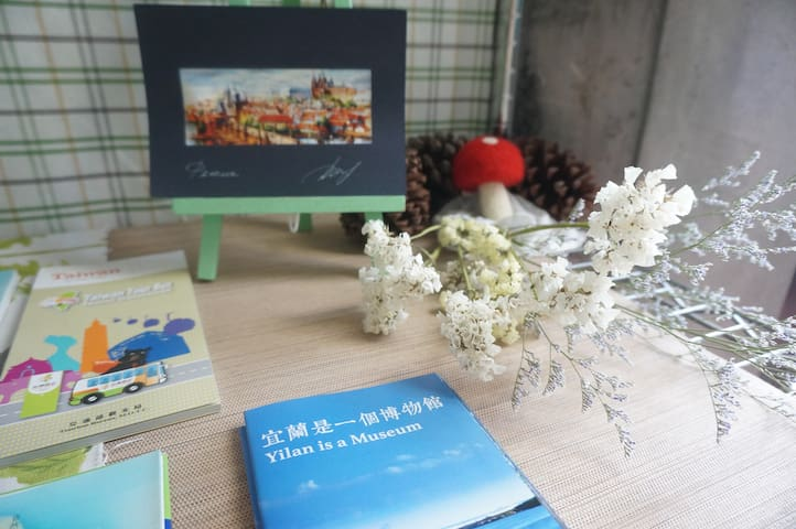 Charming room in Mei House - Dongshan Township - Misafir suiti
