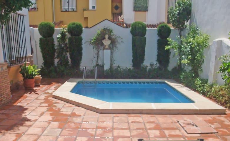 HOUSE + POOL and FIREPLACE +PARKING - Churriana de la Vega