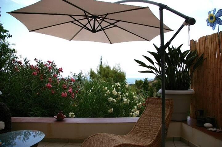 Spetses island charming sea studio - Spetses - Rumah