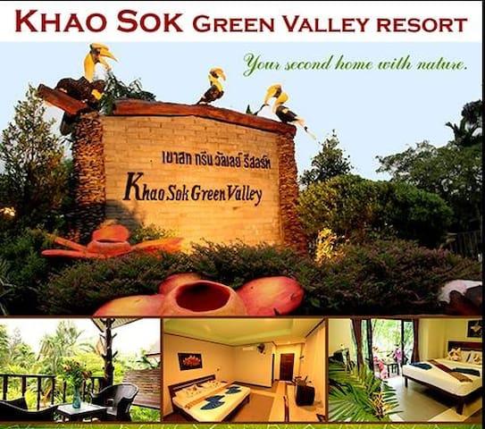 Khao Sok Green Valley Resort - TH - 家庭式旅館
