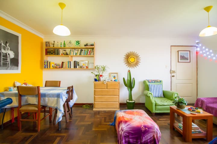 Cozy room, Nice apartment, Awesome roomies! #1 - Magdalena del Mar - Appartement