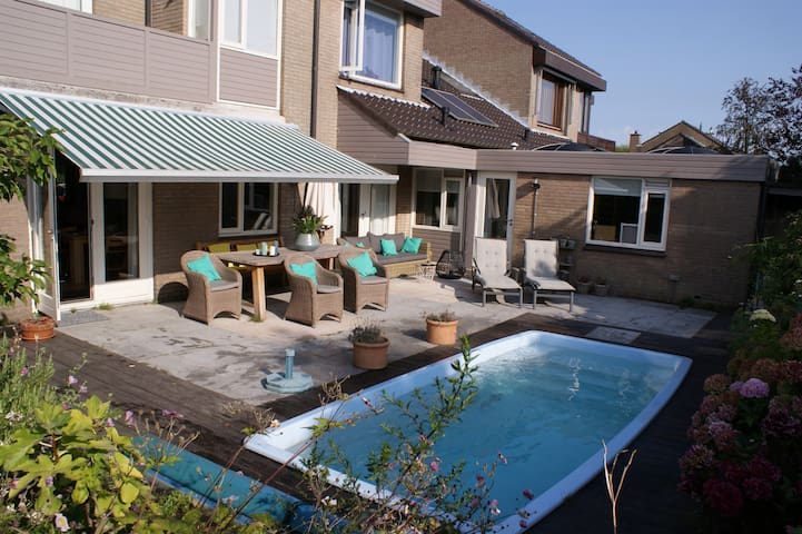 Stylish & cosy villa; beautiful quiet green area - Leidschendam - Villa