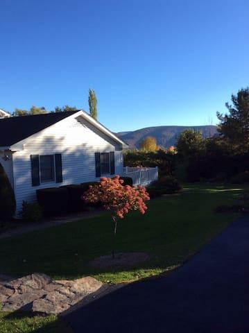 Mtn View Retreat - Mins to Hunter/Windham - Lexington - Huis