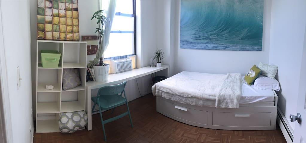 Happy Space just Mins to NYC via JC - Jersey City - Apartemen