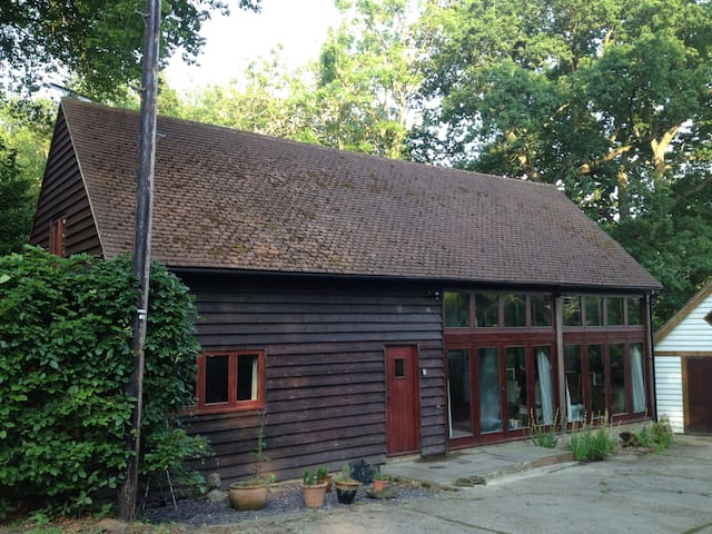 Barn B&B within enchanting Woodland - East Sussex - Bed & Breakfast