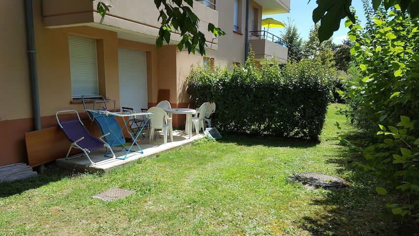 Appartement avec piscine ou chambre - Castelnau-d'Estrétefonds - Квартира