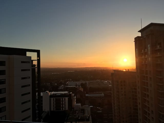 Awesome apartment 21 floors up - Chatswood - Departamento