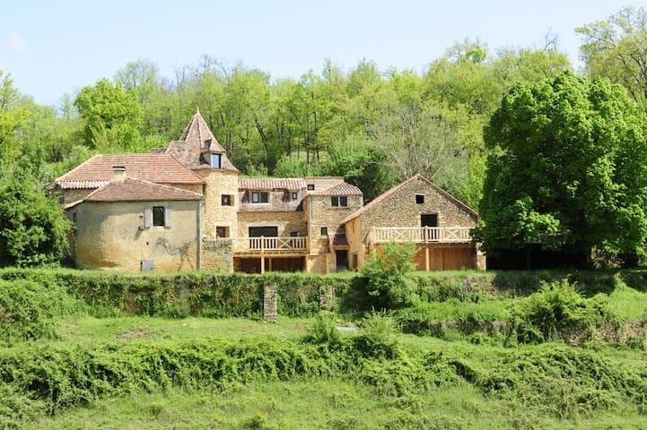 Périgord noir - La maison du Boulanger - Campagnac-lès-Quercy - Casa