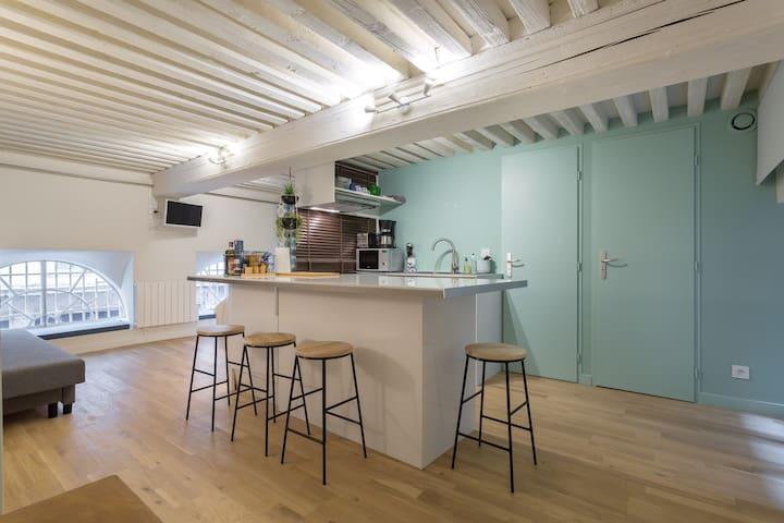 Appartement cosy de caractère - Lyon - Daire