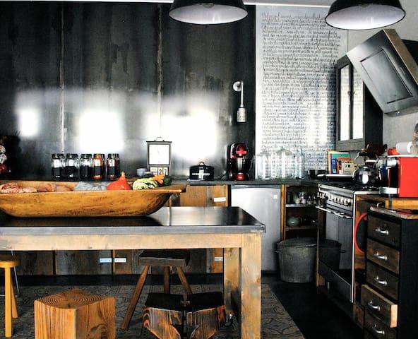 Appartement Design Industriel - Saint-Claude - Apartamento