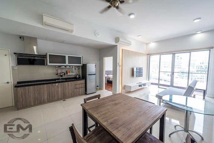 The Loft Imago 1 @ KK City Centre - โคตา กินาบาลู - อพาร์ทเมนท์