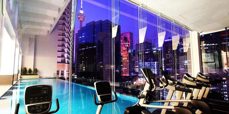 LUXURY SUITE INVITO BUKIT BINTANG (KL Tower view) - Kuala Lumpur - Apartmen