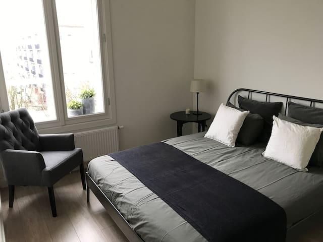 Lichte ruime kamer in Bos en Lommer - Amsterdam - Leilighet