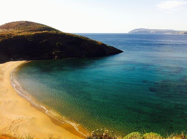 Belle maison face mer et plage - Marmari - Hus