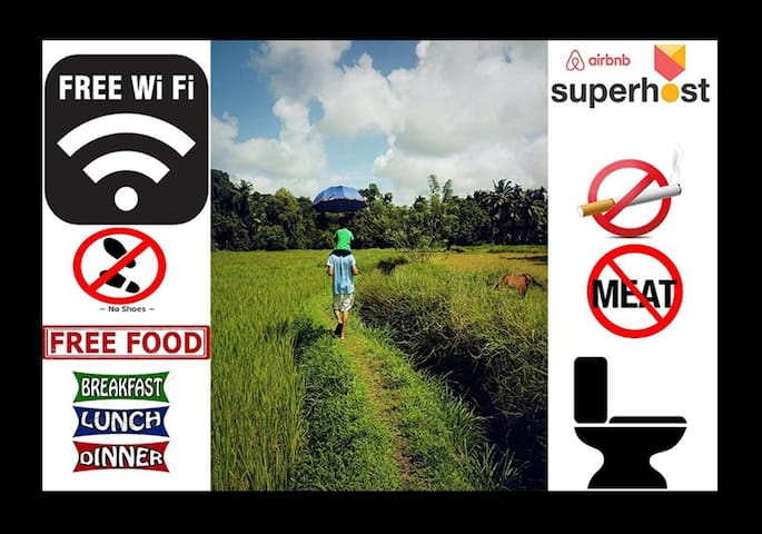 Organic Farm House All Meals WiFi & Much More... - Padu Belle - Huis